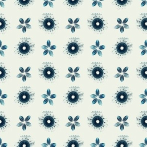 SHIBORI INSPIRED flowers