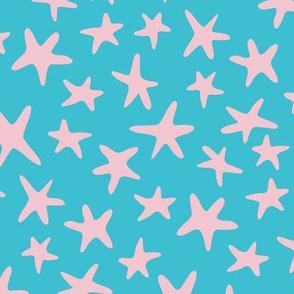 Fantasy Stars Blue Pink