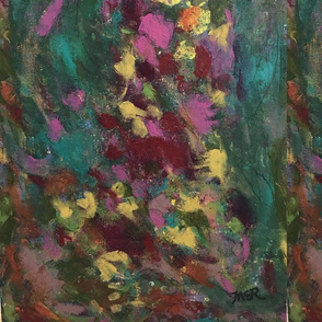 Bright Abstract Floral