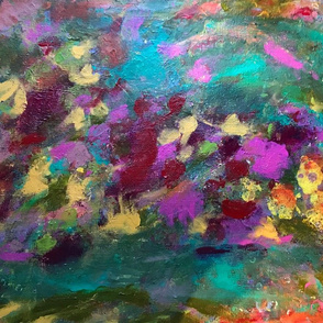 Colorful Abstract Floral