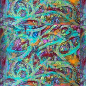 Colorful Abstract Journey