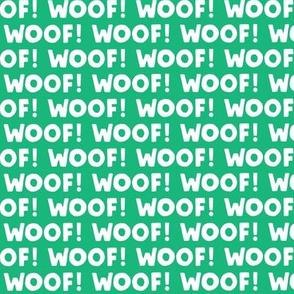 Woof! - Dog - green - LAD19