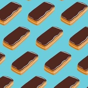 Long John Donut -  Eclair Doughnuts  - blue - LAD19