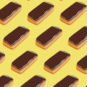 Long John Donut -  Eclair Doughnuts  - yellow - LAD19