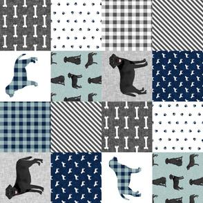 black lab cheater pet quilt b dog breed quilt pattern wholecloth labrador retrievers