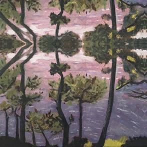 Portofino trees