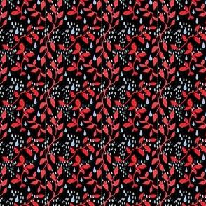 Black coral pattern