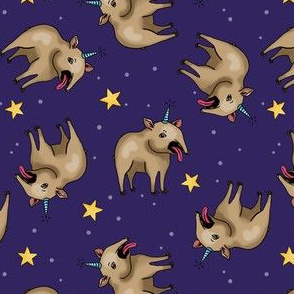 Tapir unicorns in space