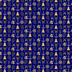54x108 Age of Sail Hornblower Nautical print