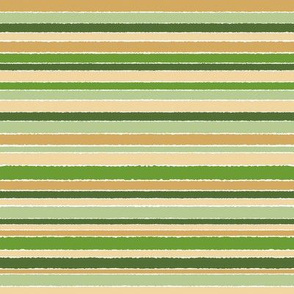 Stripes of Green Gold, horizontal