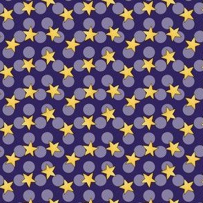 Starry space dots