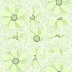 Green Sherbert Floral