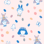 Easter Girl Pattern