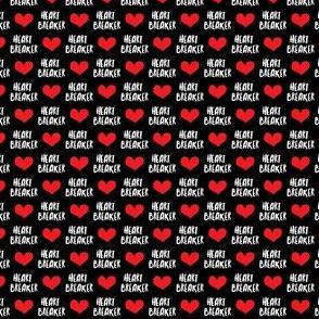 (micro scale) Heart Breaker - Black C19BS
