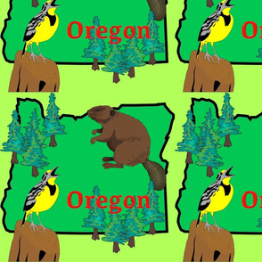 Oregon fabric