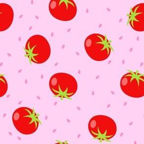 Summer Tomatos in Pink