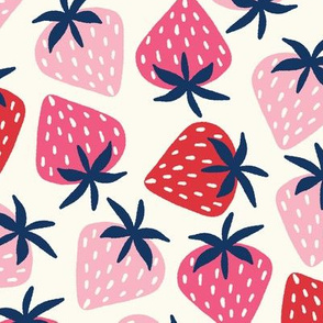 strawberries // large scale