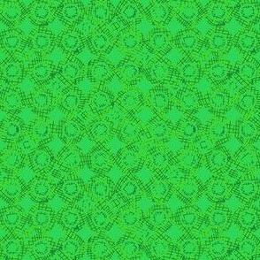 abstract green circles