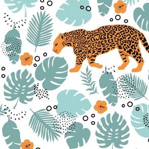 big cat in the jungle