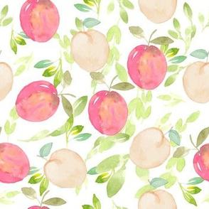Peach Passion in Watercolor