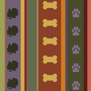 Dog Stripes Thanksgiving 2