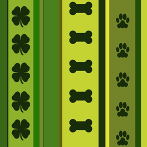 Dog Stripes St. Patrick's Day 2
