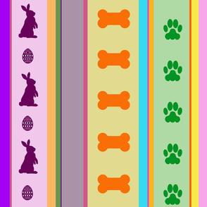 Dog Stripes Easter 2