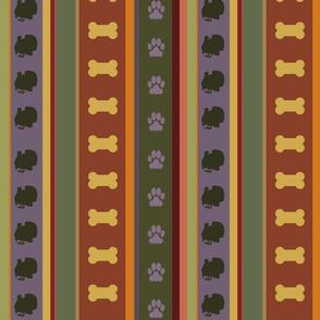 Dog Stripes Thanksgiving 2_Medium Scale