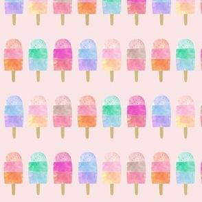Rainbow Pops // Pale Pink
