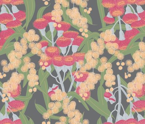 Rraustralian-flowers-dark-pattern_contest251929preview