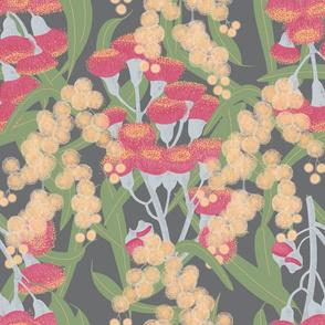 Eucalyptus and Wattle Blossom