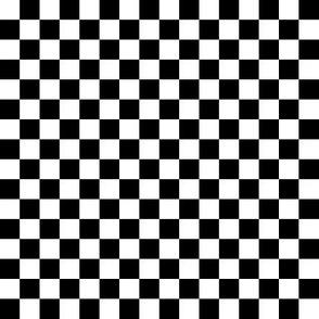 Half inch checkers