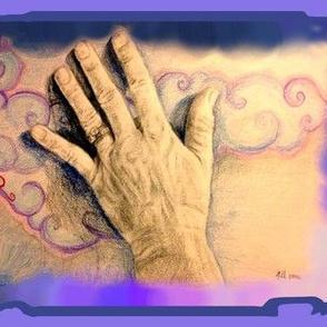 Hand series, cloud