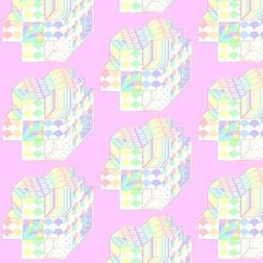 pastel structures