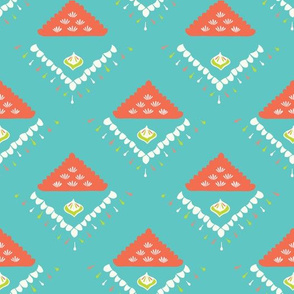 Pretty geometric diamond pattern. Seamless repeating.