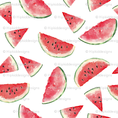 Juicy Watermelon // White