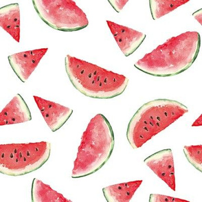 Juicy Watermelon // White