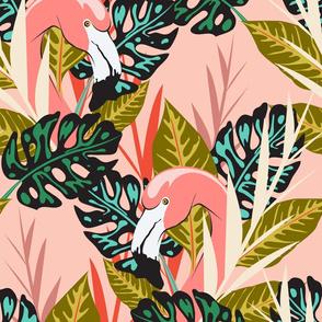 flamingo - pink (jumbo)