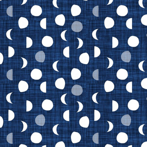 moon phases // 108-16 linen