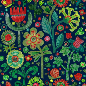 The Night Garden 18 x18