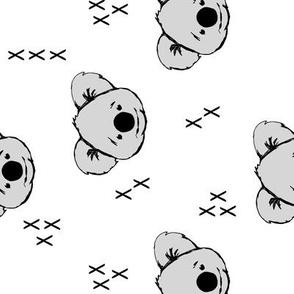 Koala // white (90) C19BS