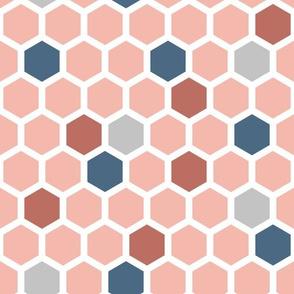 Terracotta hexagons