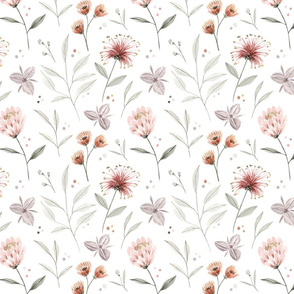 Australian Polka Dots and Florals