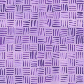 Purple Basketweave