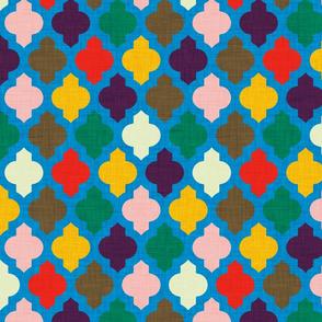MOROCCAN  RETRO BLUE