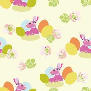 cream_pink_bunny_01_seaml_stock