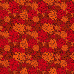 I löv löv red orange rust
