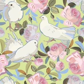 green_vintage_rose_dove_02_seaml_stock