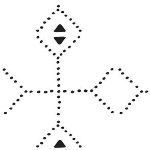 Dotted Geometrical Pattern
