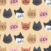 Uppity Cats - mini
